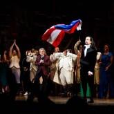Hamilton Broadway Stage