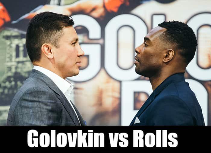 Golovkin vs Rolls MSG