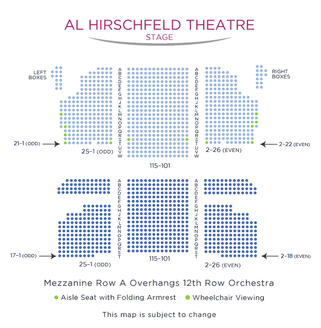 Al-Hirschfeld-Theatre-NYC-Seating-Chart
