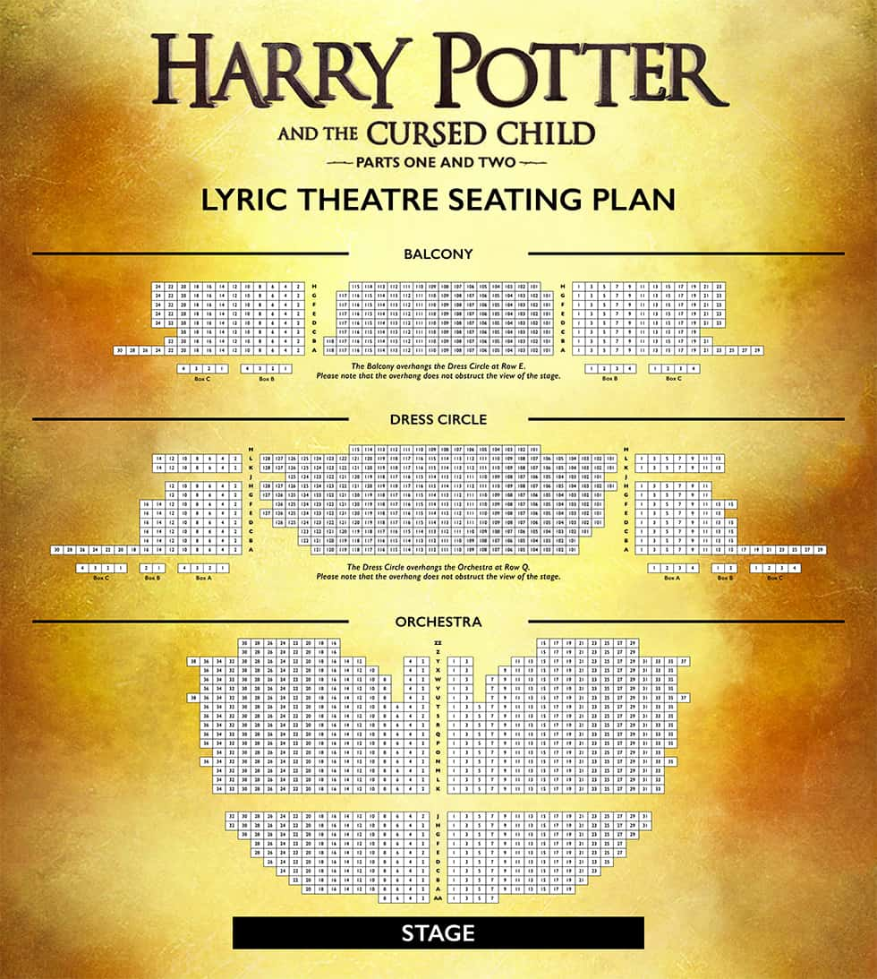 Lyric Theatre seating