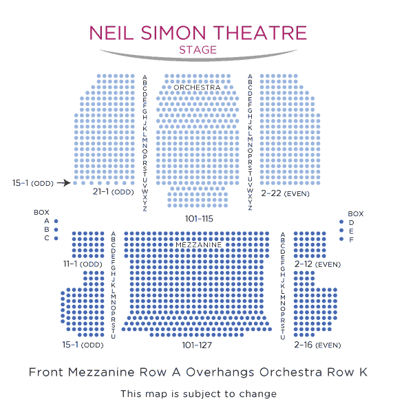 Neil-Simon-Theatre-Broadway-Seating-Chart-nyc