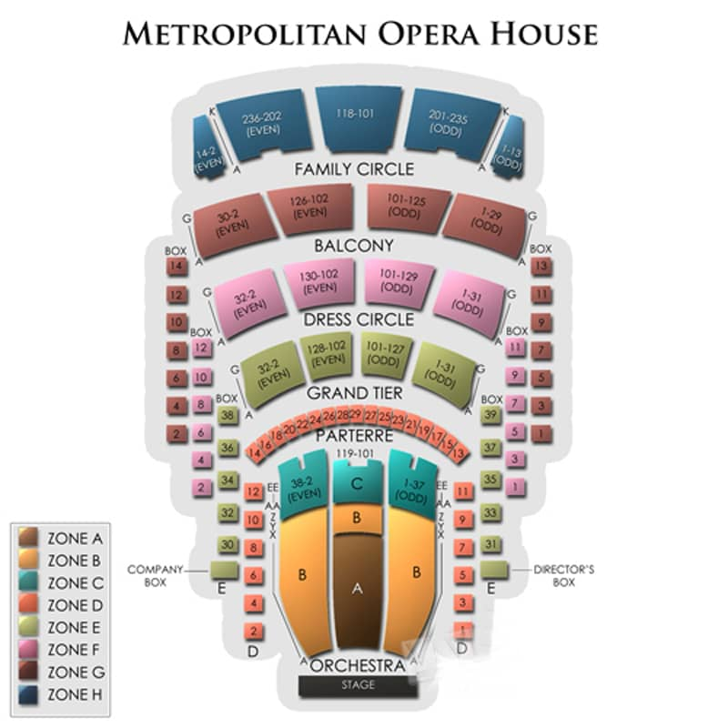 Metropolitan Opera Tickets  U00bb Nyc Events 2019  2020