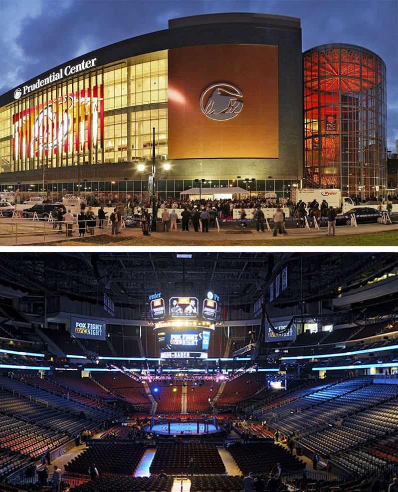 Prudential Center Newark NY
