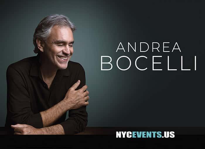 Andrea Bocelli MSG